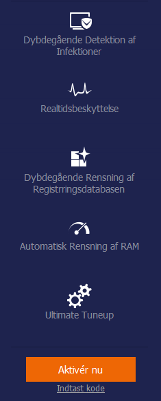Advanced SystemCare Free (Dansk) 12 - Download.dk