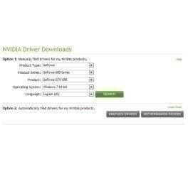 Nvidia Driverscanner