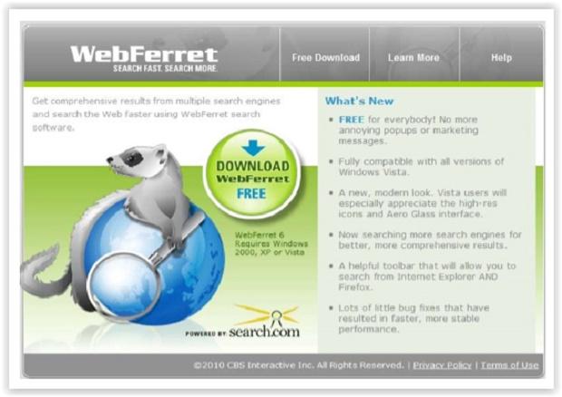 web ferret gratis