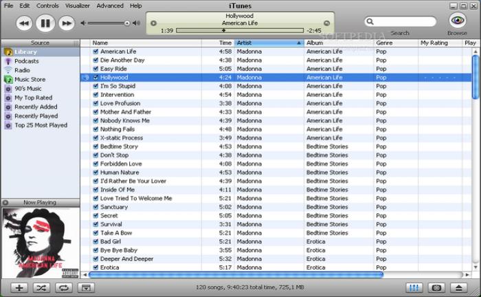 iTunes til Windows (dansk) 12.5.3 (dansk) - Download.dk